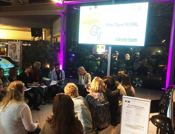 Ladies Night 2016 bei Opel Kohl in Aachen